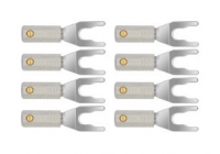 Коннекторы Wireworld Set of 8 Uni-Term Silver Spades w/Sockets (SPDSUTM08)