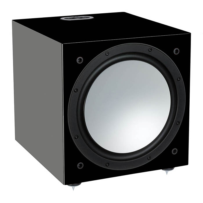 Сабвуфер Monitor Audio Silver series W12 Black Gloss